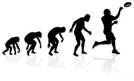 Ewolucja rozgrywający Obrazy Royalty Free