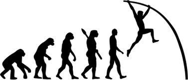 Ewolucja słupa krypta ilustracji