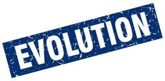 Ewolucja znaczek ilustracja wektor