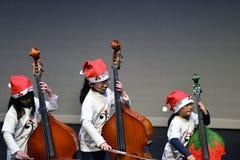 Exécutez le violoncelle images stock