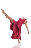 Exécution de ballerine photographie stock libre de droits