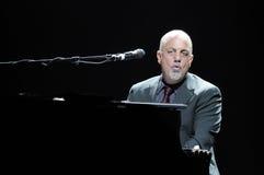 Exécution de Billy Joel sous tension. Images libres de droits