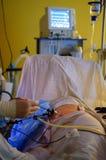 Exécution de chirurgie de Laparoscopic Photographie stock libre de droits