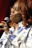Exécution de Yolanda Adams sous tension. Photos libres de droits