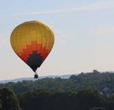 Exécution du vol à un fest de ballon Image libre de droits