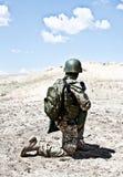 Exécution militaire Photos stock
