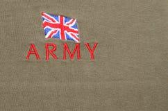 Exército britânico Foto de Stock