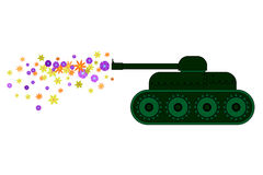 Exército da flor Imagem de Stock