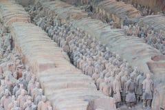 Exército da terracota, xi, porcelana Fotografia de Stock