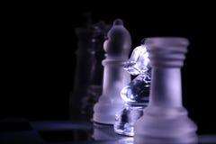 Exército da xadrez Foto de Stock