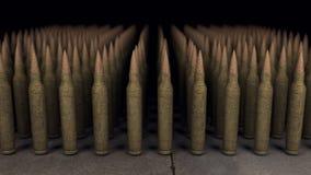 Exército das balas Imagens de Stock