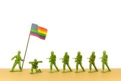 Exército de LGBT Foto de Stock