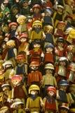 Exército de soldados de brinquedo fotos de stock royalty free