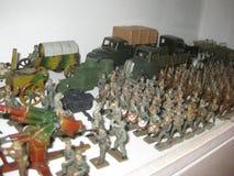 Exército do brinquedo Fotos de Stock