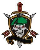 Exército do crânio Fotos de Stock Royalty Free