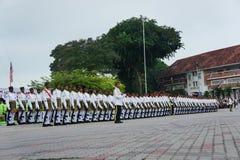 Exército do oficial de Malaysia Fotografia de Stock