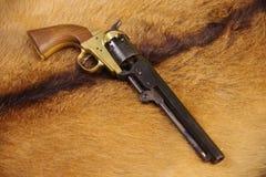 Exército 1851 do potro revólver de 44 cal imagens de stock royalty free