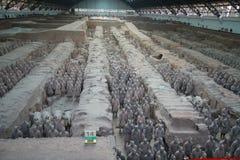 Exército do Terracotta Imagens de Stock