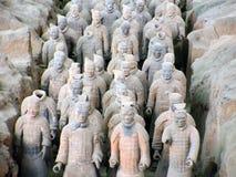 Exército do Terracotta Fotos de Stock Royalty Free