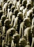 Exército do Terracotta Foto de Stock Royalty Free