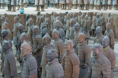 Exército do Terracotta Imagens de Stock Royalty Free