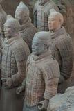 Exército do Terracotta em Xian Fotografia de Stock