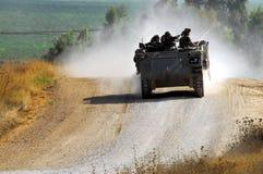 Exército e tanque Foto de Stock