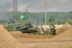 Exército Games-2017 Competição Tyumen da rota segura Rússia Imagem de Stock