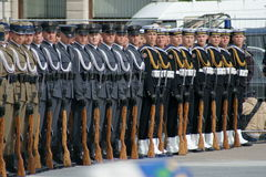 Exército polonês fotografia de stock royalty free