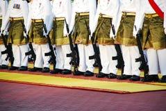 Exército real de Malaysia Foto de Stock