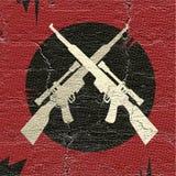 Exército rebelde ilustração stock