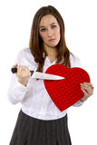 Ex-amant dédaigné Image libre de droits