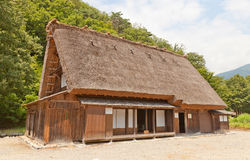 Ex Asano Chuichi House nel villaggio di stile di gassho di Ogimachi, Jap Fotografia Stock