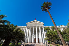 Ex Congress Building of Chile Royalty Free Stock Photos