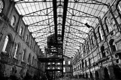 Ex cukrowa fabryka zdjęcia stock