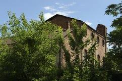 Ex cukrowa fabryka Zdjęcie Stock