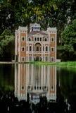 Ex-hacienda of Chiautla. Was built during XIX century near San Martin Texmelucan in the state of Puebla, Mexico royalty free stock photos