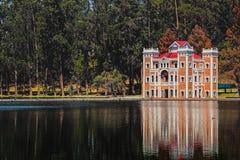 Ex Hacienda de Chautla, όμορφη θέση που επισκέπτεται στην κατάσταση του Πουέμπλα, Μεξικό στοκ εικόνα με δικαίωμα ελεύθερης χρήσης