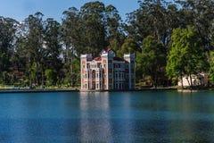 Ex Hacienda de Chautla, Puebla, Mexico. Ex Hacienda de Chautla Castle park and lake, Puebla, Mexico royalty free stock image
