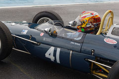Ex John Surtees Lola F1 in Magny Cours Stockfoto