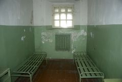 Ex-KGB prison, Vilnius, Lithuania Royalty Free Stock Images