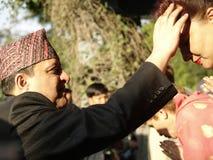Ex-King Gyanendra Stock Photos
