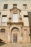 Ex palazzo di Dogana Molfetta La Puglia L'Italia Immagine Stock