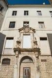 Ex palazzo di Dogana Molfetta La Puglia L'Italia Fotografia Stock