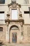Ex palazzo di Dogana Molfetta La Puglia L'Italia Immagini Stock