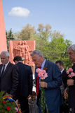 Ex-president Petru Lucinschi Royalty Free Stock Image