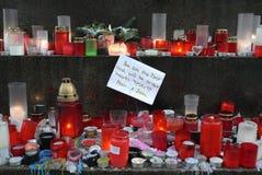 Ex presidente ceco morto Vaclav Havel. immagini stock libere da diritti