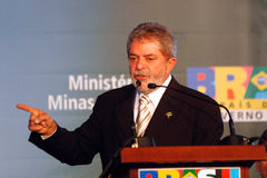 Ex Presidente del Brasile Fotografie Stock Libere da Diritti
