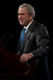 Ex-presidente George W. Bush Imagem de Stock Royalty Free