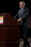 Ex presidente George W. Bush immagini stock libere da diritti